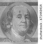 portrait of u.s. president... | Shutterstock . vector #671443414