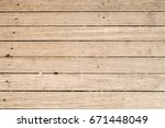 close up of gray wooden fence... | Shutterstock . vector #671448049