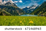 Vilsalpsee In Spring With...