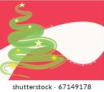 new year's tree | Shutterstock . vector #67149178