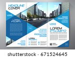business brochure. flyer design.... | Shutterstock .eps vector #671524645