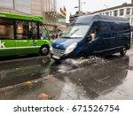 nottingham  england   november... | Shutterstock . vector #671526754