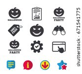 halloween pumpkin icons....