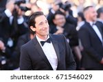 adrien brody attends the ... | Shutterstock . vector #671546029