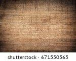 Brown Dark Scratched Wooden...