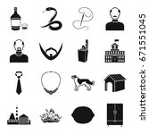 alcohol  atelier  appearance... | Shutterstock .eps vector #671551045