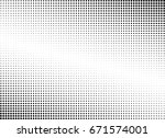 abstract halftone dotted... | Shutterstock .eps vector #671574001
