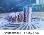 financial success concept | Shutterstock . vector #671576731