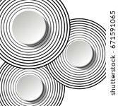 creative wallpaper. vector...   Shutterstock .eps vector #671591065