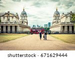 Old Royal Naval College And Red ...