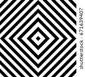 seamless tile with black white...   Shutterstock .eps vector #671639407