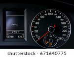 car dashboard | Shutterstock . vector #671640775