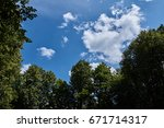 Beautiful View Of The Sky With...