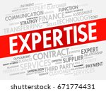 expertise word cloud collage ... | Shutterstock . vector #671774431