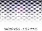 dark pink  blue vector... | Shutterstock .eps vector #671779621