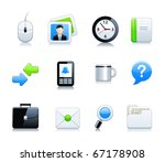 office end business icons | Shutterstock .eps vector #67178908