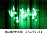 world technology communication... | Shutterstock . vector #671793751