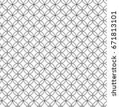 seamless pattern. modern... | Shutterstock . vector #671813101
