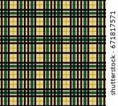 nice line and rectangular... | Shutterstock .eps vector #671817571