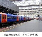the train station | Shutterstock . vector #671849545