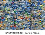 Large Stack Of Old Plastic...