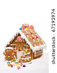Gingerbread House  Man And...