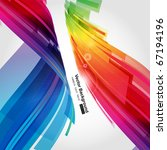 abstract background vector | Shutterstock .eps vector #67194196