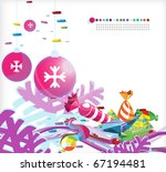 new year and christmas image... | Shutterstock . vector #67194481