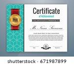 multipurpose modern... | Shutterstock .eps vector #671987899