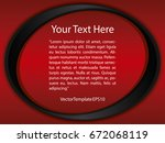 template red  black and white... | Shutterstock .eps vector #672068119
