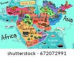 a vector illustration of middle ... | Shutterstock .eps vector #672072991