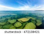 The Clear Waters Of Lake...