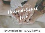 family parentage home love... | Shutterstock . vector #672245941