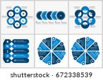 business project infographics...   Shutterstock .eps vector #672338539