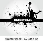 basketball poster | Shutterstock .eps vector #67235542