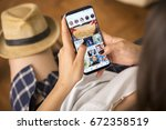 izmir  turkey   june 27  2017 ... | Shutterstock . vector #672358519