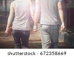 background image of young...   Shutterstock . vector #672358669