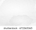 abstract halftone dotted... | Shutterstock .eps vector #672365365
