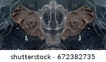Small photo of Night butterfly alien ghost, symmetrical photographs of abstract landscapes of the deserts of Africa from the air, magical, artistic, landscapes of your mind, just for crazy, optical illusions