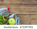healthy living. | Shutterstock . vector #672397501
