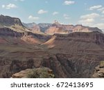 grand canyon national park in... | Shutterstock . vector #672413695