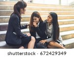 stressed businesswomen has