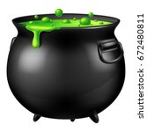 Halloween Witch Cauldron With...