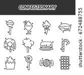 confectionary cartoon concept...