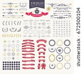 premium design elements. great... | Shutterstock .eps vector #672500104
