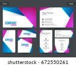 creative professional business... | Shutterstock .eps vector #672550261