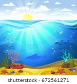vectorial illustration of... | Shutterstock .eps vector #672561271