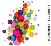 vector  abstract background... | Shutterstock .eps vector #672688645