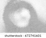 abstract halftone dotted... | Shutterstock .eps vector #672741601