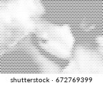 abstract halftone dotted... | Shutterstock .eps vector #672769399